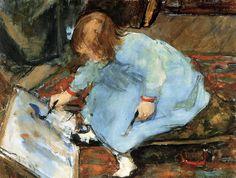 Floris Arntzenius (1864 - 1925), Lies, the Artist's Daughter, private collection #sunday