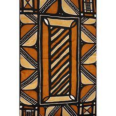 Bogolan africain (128cm X 208cm)
