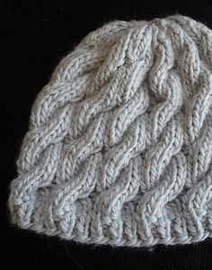 Cabled Hat (free pattern)