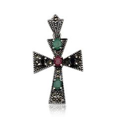 Joyeria Plata y Azabache Artesania Galicia Home Page Silver and Black Jet Crafts Jewelry Crafts Tax Free, Emeralds, Marcasite, Jewelry Crafts, Brooch, Sterling Silver, Retro, Collection, Vintage