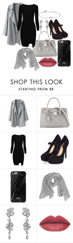 """""""you took my heart on my sleeve for decoration"""" by cutiepiemandiii ❤ liked on Polyvore featuring MICHAEL Michael Kors, Native Union, Samantha Holmes, Swarovski, Amorium, women's clothing, women, female, woman and misses"""