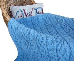 Ravelry: Serenity Baby Blanket pattern by Luise O'Neill