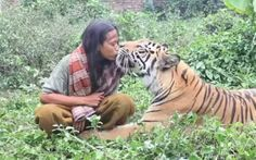 #Wild but #calm and #cute http://www.cribeo.com/estilo_de_vida/4160/estos-5-animales-salvajes-son-tan-dociles-como-un-perrito