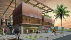 2. Ödül - Antalya Gazipaşa Belediye Hizmet Binası, Ticaret Merkezi ve Yakın Çevresi Ulusal Mimari Proje Yarışması - kolokyum.com Commercial Center, City Museum, Modern Architecture, Canopy, Facade, Competition, Public, Building, Design