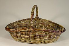 willow garden basket woven by Katherine Lewis