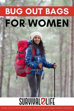 Wondering what should be included in bug out bags for women? If you're a woman looking to put together your own bug out bag, look no further. #InternationalWomensDay #womenempowerment #women #bugoutbag #survival #preparedness #gunassociation Survival Life, Homestead Survival, Camping Survival, Survival Prepping, Emergency Preparedness, Survival Skills, Cold Mountain, Survival Backpack, Winter Survival