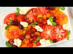3 *NEW* Summer Salads | Fresh Caprese, Creamy Cucumber & Grilled Corn - YouTube