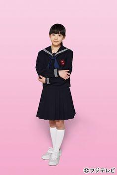 セーラー服に憧れていたという芦田愛菜