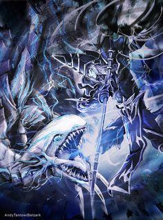 Blue Eyes vs Dark Magician