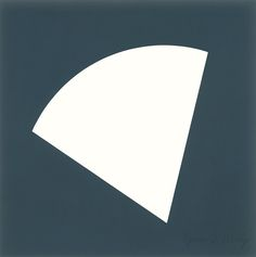 Ellsworth Kelly - White Curve 1997