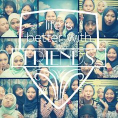 life is better with friends! iloveyougirls