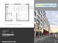 Anlegerwohnung CCN/ Top9 - Rendite 3,64% Floor Plans, Room Layouts, Real Estate, Homes, Floor Plan Drawing, House Floor Plans