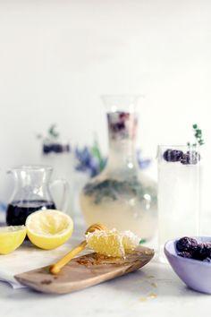 Honey Thyme Lemonade