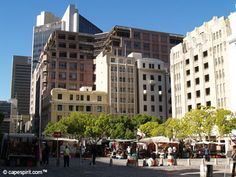 Green Market Square Alexandria, Cape Town, South Africa, Past, Future, Building, Green, Past Tense, Future Tense
