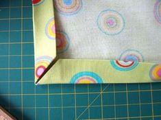 Jak na pěkné rohy Textiles, Diy And Crafts, Sewing, Knitting, Handmade, Inspiration, Quiet Books, Tutorials, Clothes