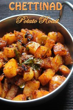 Ennai Urulai Kizhangu Varuval Recipe / Chettinad Potato Roast Recipe