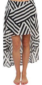 Volcom Girls Malena Skirt (black/white)