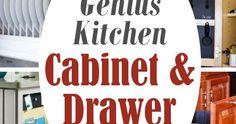 14 Genius Kitchen Cabinet And Drawer Hacks