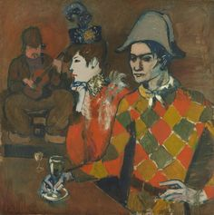 Pablo Picasso - At the Lapin Agile [1905] | Flickr - Photo Sharing!