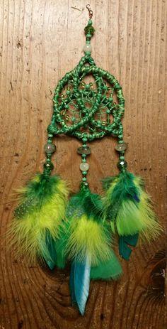 Dreamcatcher / Dream Catcher / Celtic Knot by StringTheoryArtistry