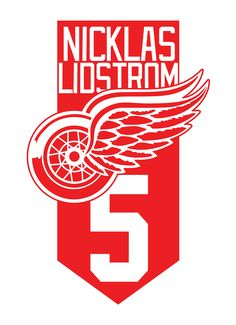 Logo Detroit Red Wings Niclas Lidstrom by on DeviantArt Detroit Red Wings, Red Wing Logo, Logos, Wings Logo, Ravens, 4 Life, Hockey, Red Wing, Raven