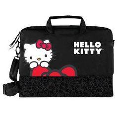 Hello Kitty Kt4335B Hello Kitty Notebook Bag (Black) $24.39