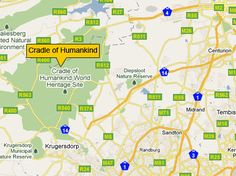 Location of Cradle of Humankind, Gauteng, South Africa Nature Reserve, Heritage Site, South Africa, Places To Go, World, The World