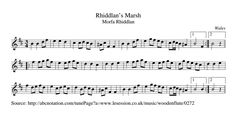 Rhiddlan's Marsh (Waltz) [WT1010] Tune of the Day (@WTtuneoftheday) | Twitter