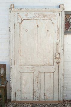 Gorgeous Antique 19th Century French Large Panelled Door with frame – Decorative Antiques UK