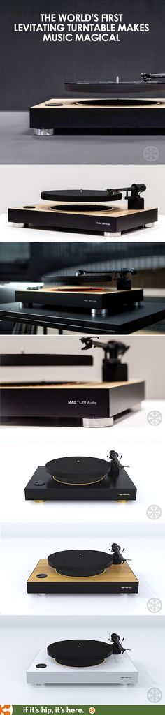 Learn mora about this amazing floating turtntable at http://www.ifitshipitshere.com/the-worlds-first-levitating-turntable