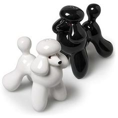 POODLE SALT & PEPPER SHAKERS - - Polyvore