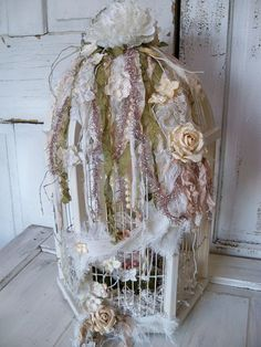 Wedding birdcage card holder drop box  by AnitaSperoDesign on Etsy, $180.00