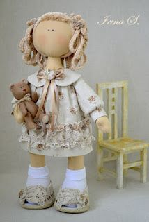 Irina's clothdoll,  rag doll, cute, doll, dollie, toy, girl thing, girly, kawaii, plush, plushie