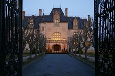 Ochre Court is a large châteauesque mansion in Newport, Rhode Island, USA. Commissioned by Ogden Goelet, it was built at a cost of $4.5 million in 1892. It is the second largest mansion in Newport after nearby The Breakers.
