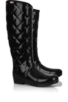 c1fbe53fbe4c my favorite Hunter - quilted rainboots. Wellington Equestrian