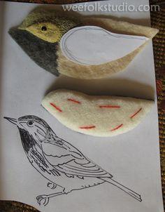 Posts about Birds of Beebe Woods written by Salley Mavor Bird Crafts, Felt Crafts, Fabric Birds, Fabric Art, Embroidered Bird, Felt Embroidery, Wool Art, Art Textile, Felt Birds