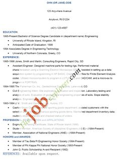 jethwear resume examples and samples for students how to write httpwww - Effective Resumes Examples