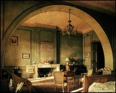 Chateau X, via Flickr. The master bedroom. All these gorgeous antiques just sitting there.