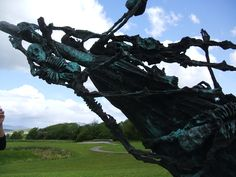 Potato Famine Memorial in Murrisk Millennium Peace Park at the foot of Croagh Patrick in County Mayo (Loved it)