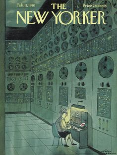 The New Yorker - Saturday, February 11, 1961 - Issue # 1878 - Vol. 36 - N° 52 - Cover by : Charles Addams