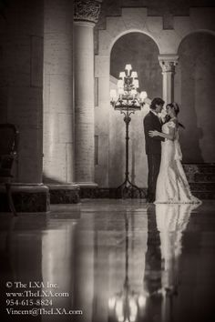 Wedding Photography by: www.TheLXA.com The Biltmore Hotel Miami