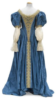 An Anne Parillaud gown and tiara from The Man in the Iron Mask