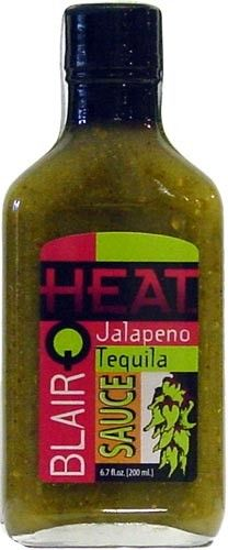 Great American Spice Company  - Blair's Q Heat Jalapeno Tequila Exotic Hot Sauce (Bottle, 8.44 fl oz), $6.42 (http://www.americanspice.com/blairs-q-heat-jalapeno-tequila-exotic-hot-sauce-bottle-8-44-fl-oz/)