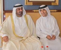 Ahmed bin Saeed bin Maktoum Al Maktoum y Saeed bin Maktoum bin Juma Al Maktoum, 12/09/2016. Foto: rock3li