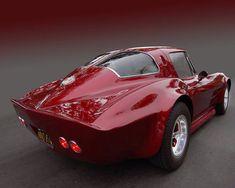 63 Corvette Custom Cherry