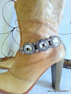 BOLD COWGIRL Boot Jewelry Boot Bling Boot Bracelet by BoldCowgirl, $29.00