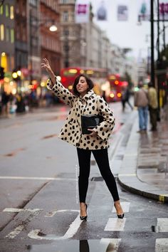 hailing a cab never looked so chic