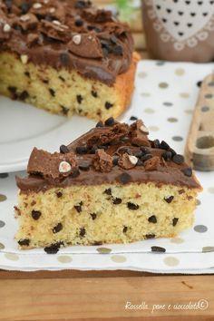 Nutella, Sweet Recipes, Cake Recipes, Torte Cake, Poke Cakes, Italian Desserts, Coffee Recipes, Cake Cookies, Food To Make