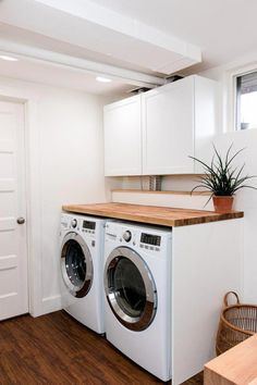 My Total DIY Laundry Room Makeover My Total DIY Laundry Room Makeover Mary Zammarelli Save Images Mary Zammarelli Excellentlaundry room storage small … – Laundry Room Laundry Room Countertop, Laundry Room Shelves, Laundry Room Layouts, Laundry Room Remodel, Laundry Room Organization, Laundry Room Design, Laundry Rooms, Laundry Room Folding Table, Laundry Closet