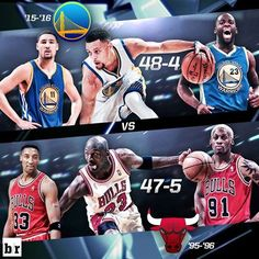 Warriors have the best record in NBA history at All-Star break. BUT, can they break Bulls' 72-10 record in 95-96? 2/11/2016